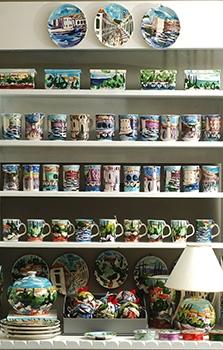 Oslikana keramika