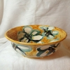 Zdjela dekorirana žuta