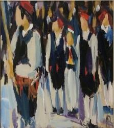 """Slika """"Iz procesije"""""""