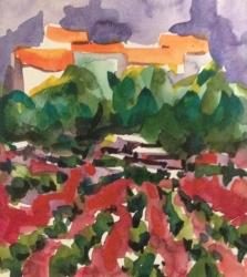 "Painting ""Vineyard"""