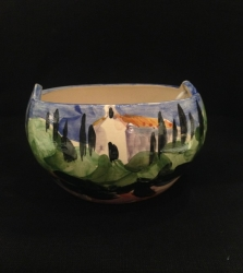"Painted bowl ""Romjenca"""